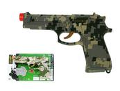 Pistolet 19,5cm dźwięk HY9019-2 mix cena za 1 szt