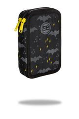 Piórnik podwójny z wyposażeniem - Jumper 2 - Dark night Coolpack