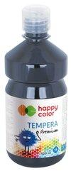 Farba tempera Premium 500ml grafitowa HAPPY COLOR