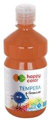 Farba tempera Premium 500ml brązowa HAPPY COLOR