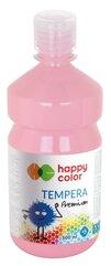 Farba tempera Premium 500ml różowa HAPPY COLOR