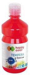 Farba tempera Premium 500ml czerwona HAPPY COLOR