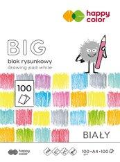 Blok rysunkowy biały A4/100K BIG HAPPY COLOR