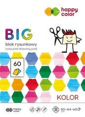 Blok rysunkowy kolorowy A4/60K BIG HAPPY COLOR