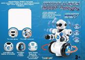 Robot Policyjny 997 - jeździ, tańczy, na baterie w pudełku 1000823