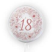 Balon 45cm 18-tka kwiaty TUBAN