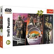 Puzzle 300el Tajemniczy Baby Yoda. Star Wars The Mandalorian 23002 Trefl