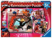 Puzzle 3x49el Miraculous 051892 RAVENSBURGER