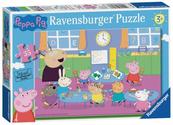 Puzzle 35el Świnka Peppa Zabawa w klasie 086276 RAVENSBURGER