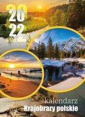 Kalendarz 2022 Ścienny wieloplanszowy Krajobrazy
