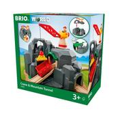 BRIO 33889 Dźwig i tunel górski p2