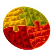 Pop It antystres koło - puzzle / gniotek 513471