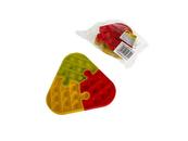 Pop It trójkąt puzzle - gniotek wielokolorowy 513501 Cena za 1szt