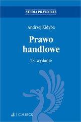 Prawo handlowe. Wydanie 23