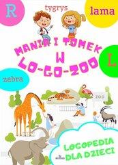 Logopedia dla dzieci Mania i Tomek w logozoo