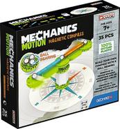 GEOMAG Mechanics Motion RE Compass - klocki magnetyczne 35el G766