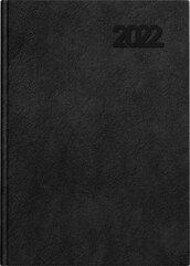 Kalendarz 2022 książkowy B5 Standard DTP czarny