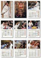 Kalendarz 2022 Papieski Rodzinny