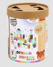 Zabawka drewniana - O!Klocki - Bobaski i Miś TREFL