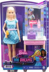 Barbie Lalka Big City zestaw Big Dreams GYG39 GYG38 MATTEL