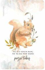 Magnes na lodówkę - wiewiórka