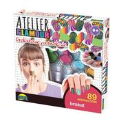 Atelier Glamour Brokatowe paznokcie w pudełku 00861 DROMADER