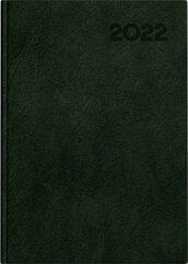 Kalendarz 2022 książkowy A5 Basic DTP c.zielony