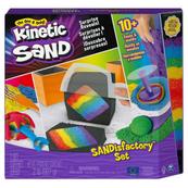 Kinetic Sand - Wytwórnia piasku, zestaw kolorowego piasku z akcesoriami i zaskakującymi efektami 6061654 p4 Spin Master