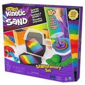 Kinetic Sand Zestaw wytwórnia piasku kolorowego