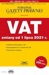 VAT - zmiany od 1 lipca 2021