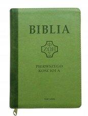 Biblia pierwszego Kościoła z paginat. zielona