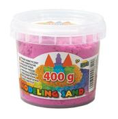 Piasek kinetyczny w wiaderku 400g mix kolorów p6 DROMADER cena za 1 szt