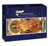 Puzzle 1000 Alfons Mucha, Królewski i szlachetny
