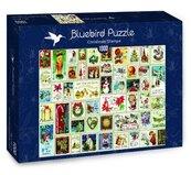 Puzzle 1000 Świąteczne znaczki