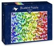 Puzzle 1000 Kolorowe motyle