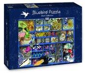 Puzzle 1000 Niebieska kolekcja