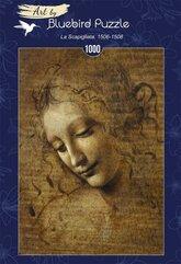 Puzzle 1000 Leonardo Da Vinci, La Scapigliata