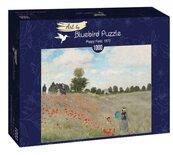 Puzzle 1000 Claude Monet, Pole maków