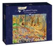 Puzzle 1000 Edvard Munch, Las na wiosne