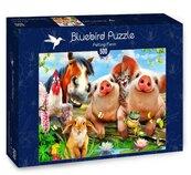 Puzzle 500 Farma dla zwierząt