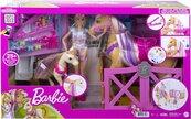 Barbie. Zestaw Koniki stylizacja i opieka GXV77
