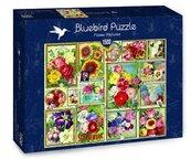 Puzzle 1500 Kolorowe kwiaty
