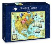 Puzzle 1500 Ameryka Północna