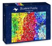 Puzzle 1000 Kolorowe rzeczy