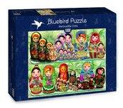 Puzzle 1000 Rosyjskie laleczki-Matryjoszki