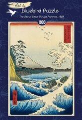 Puzzle 1000 Utagawa Hiroshige, Widok na górę Fuji