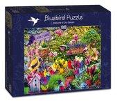Puzzle 1000 Witam w naszym ogrodzie