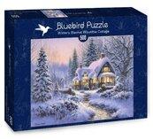 Puzzle 500 Piękna chatka w zimie