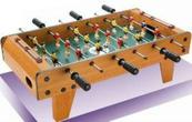 Piłkarzyki z rączkami gra drewniana w pud 1000260