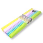 Bibuła marszczona pastel 25x200 5szt cena za opakowanie
